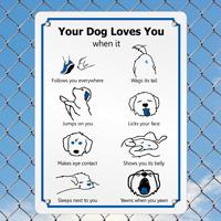 Dog Mood Sign