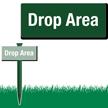 Drop Area Easystake Sign