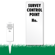 Survey Control Point Number EasyStake Survey Sign