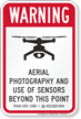 Aerial Photography Video Surveillance Texas Drone Sign