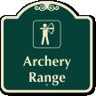 Archery Range Signature Sign