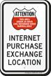 Attention Area Under Video Surveillance Sign