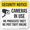 Security Notice Sign