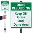 Custom Dune LawnBoss® Sign & Stake Kit