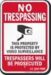 Idaho No Trespassing Sign