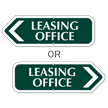 Leasing Office Sign