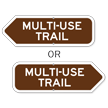 Multi-Use Trail Campground Sign