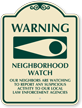 Neighborhood Crime Watch SignatureSign