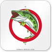 No Fishing (graphic only) Sign