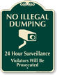 No Dumping SignatureSign