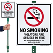 No Smoking New Jersey Smoke Free Sign