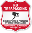 Penal Code 602 California No Trespassing Shield Sign