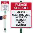 LawnBoss Sign & Stake Kit