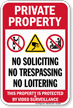 Private Property Video Surveillance Sign