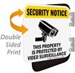 Security Notice Video Surveillance Property Sign