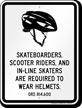Skateboard Law Sign For Oregon