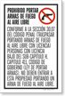 Section 30.07 Open Carry Prohibited Spanish Insert