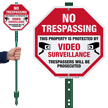 Trespassers Will Be Prosecuted LawnBoss Sign