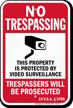 Vermont No Trespassing Sign