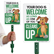 LawnPuppy® Sign & Stake Kit