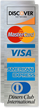 Discover Network, MasterCard, Visa, American Express Logo Decal