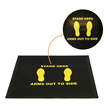 SuperScrape Security Screening Mats