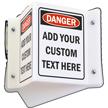 Custom OSHA Danger Projecting Sign