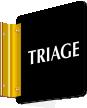 2-Sided Triage Medical Emergency Sign