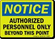 OSHA Notice Glow Sign