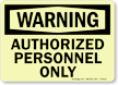 GlowSmart™ OSHA Warning Sign
