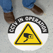 CCTV Surveillance SlipSafe™ Floor Sign