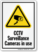 CCTV Surveillance Cameras Sign