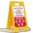 FloorBoss Standing Floor Sign