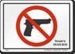 Illinois Gun Control Law Sign