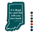 Indiana Fishing Regulations Novelty Sign
