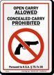 Kansas Gun Control Law Sign