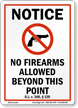 Massachusetts Firearms And Weapons Law Sign