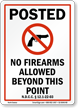 North Dakota Gun Control Law Sign