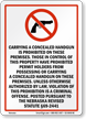 Nebraska Firearms And Weapons Law Sign