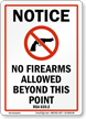 New Hampshire Firearms And Weapons Law Sign