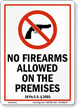 Pennsylvania Firearms And Weapons Law Sign