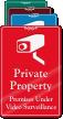 Premises Under Video Surveillance ShowCase Wall Sign