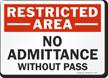 OSHA Restricted Area