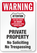 Private Property Sign