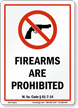 West Virginia Firearms And Weapons Law Sign