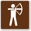 Archery, MUTCD Guide Sign for Campground