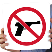 No Guns Sign (with graphic)