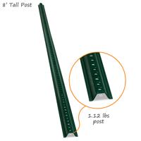 Standard U-Channel Signs Post - 8' tall