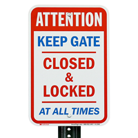 Attention Gate Sign
