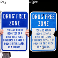 Drug-Free Zone Signs
